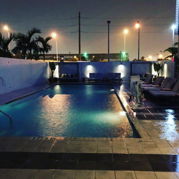 EB Hotel Miami Pool Review
