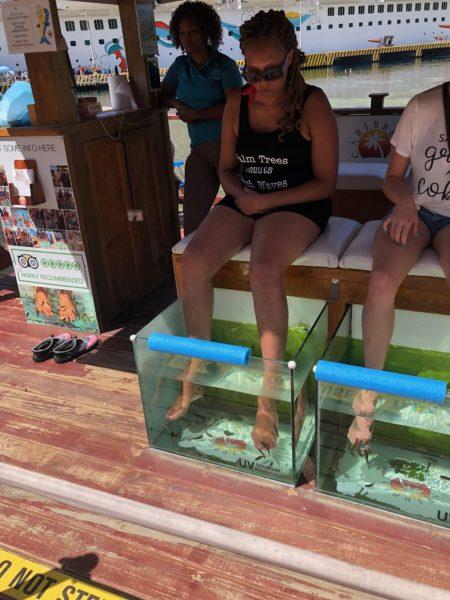 Eaten by Fish in Honduras