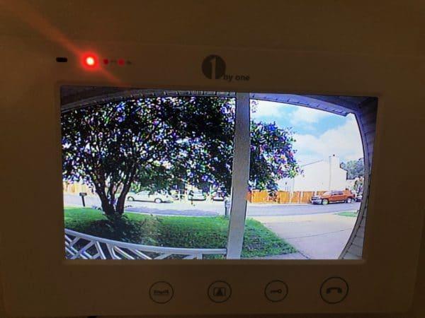 Video Doorbell in Use