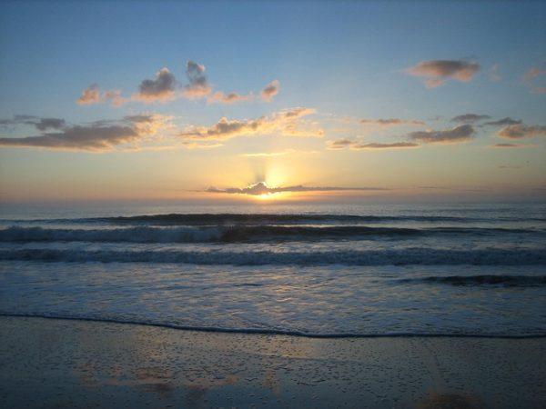 Sunrise at Myrtle Beach State Park