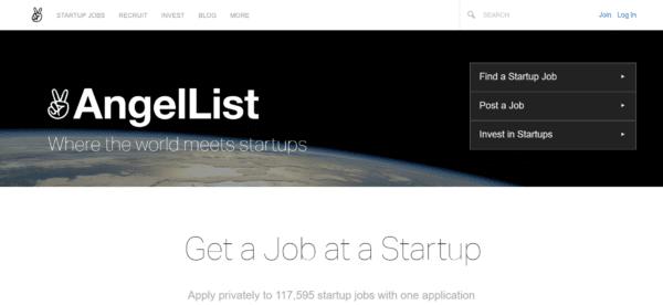 Remote jobs on AngelList