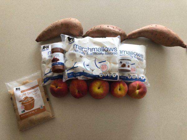 Peach Candied Yams Recipe