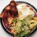 Bacon Chili Pepper Chicken Wraps (BCC) and Peach Candid Yams Recipe