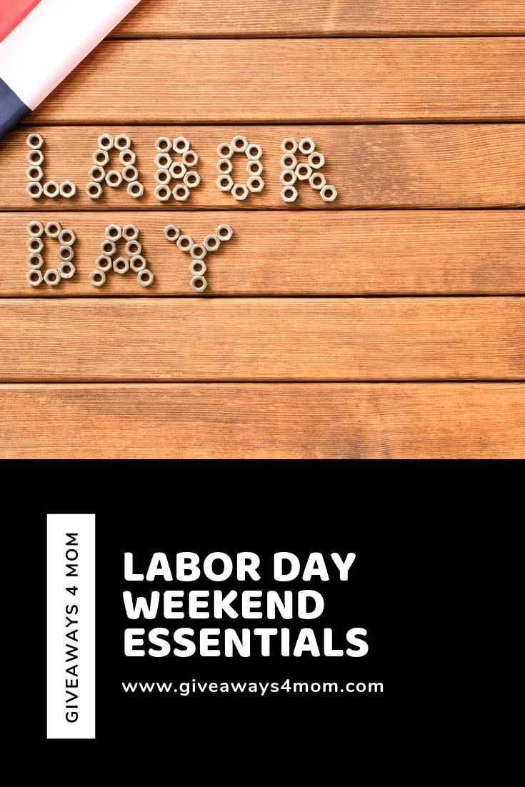 Labor Day Weekend Essentials