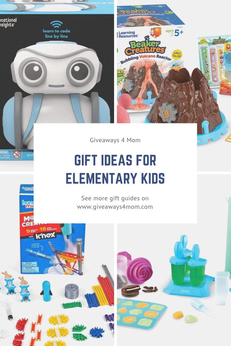 Gift Ideas For Elementary Kids