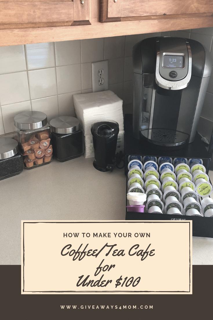 How to Create a Coffee/Tea Cafe